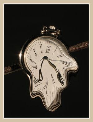 Dali-esque clock