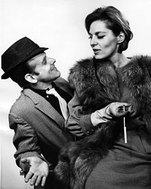 Bob Fosse with Veronica Lindfors in Pal Joey (1963)
