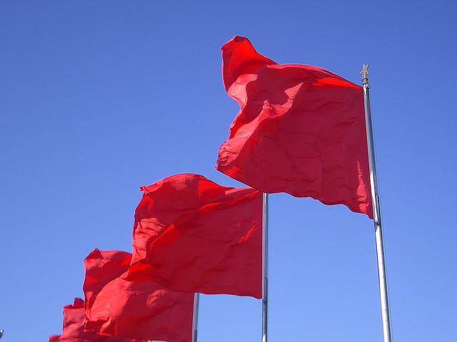 Image result for red flag chasing a red flag