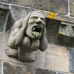 Paisley Abbey Gargoyle Image © Colin with CCLicense
