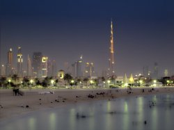 Dubai at Dusk © clemlef with CCLicense