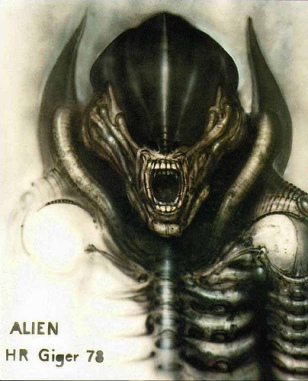 The Alien, H.R. Giger image © dream side with CCLicense