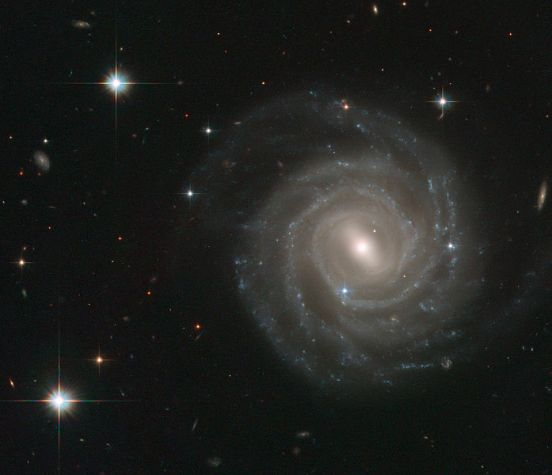 Galaxy UGC 12158 taken by the Hubble Space Telescope (PDI)