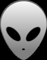 Grey Alien © Alien-hack-master with CCLicense