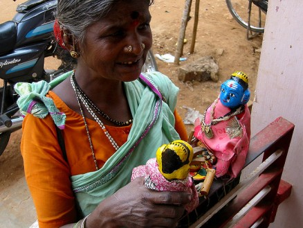 Puppets in Karnataka, India