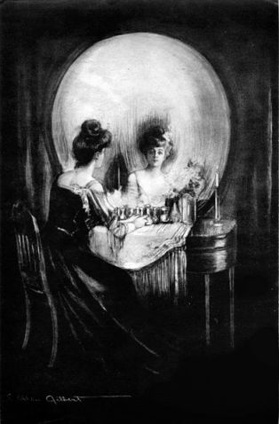 All is Vanity Charles Allan Gilbert, 1892
