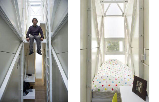 Living In A Crack Keret House In Warsaw Poland