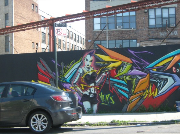 Bushwick Collective, Brooklyn, New York, USA