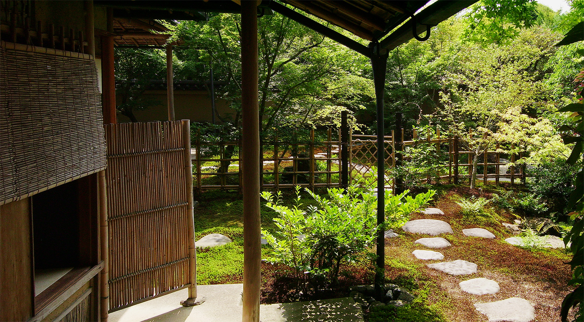 What lies between exploring the japanese tea garden for Japanese house garden