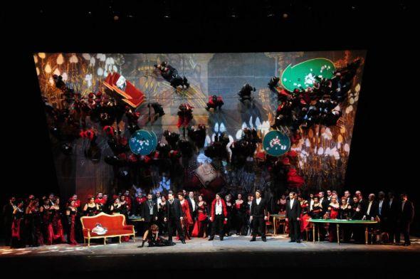 La Traviata, Teatro Comunale, Stagione Lirica, Sassari, Italy, 2013
