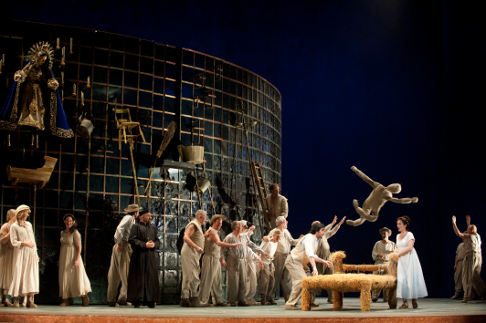 Don Giovanni, Mozart, Royal Opera House, Covent Garden, London, England, 2012