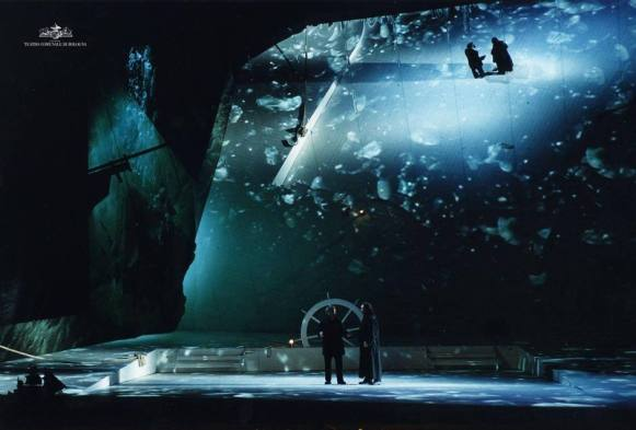 The Flying Dutchman, Wagner, Teatro Comunale, Bologna, Italy, 2008
