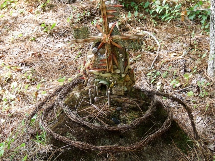 Faerie house at Annmarie Sculpture Garden, Solomon, Maryland  © Clarissa Peterson with CCLicense