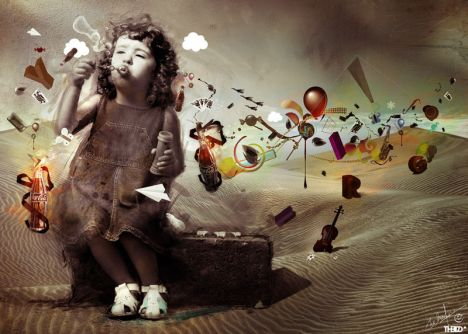 Imagination: Life in the minds of children © mehdinom with CCLicense