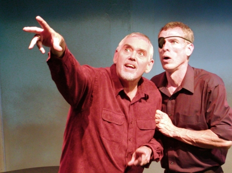Jim Brochu and Steve Schalchlin in The Big Voice, God or Merman © Bev Sykes with CCLicense