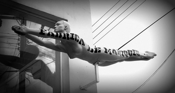 Flying Mannequin © Christine Zenino with CCLicense