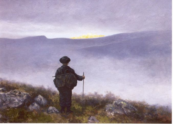 Soria Moria by Theodor Kittelsen, 1899