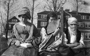Female college students attending a costume party, Lakewood, NJ, ca 1914-18 © Richard with CCLicense Female college students attending a costume party, Lakewood, NJ, ca 1914-18 © Richard with CCLicense