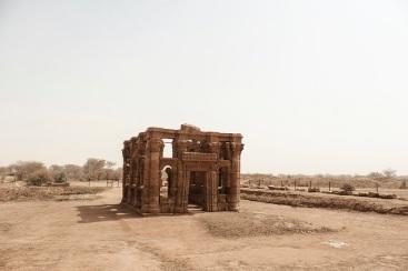 Roman ruins in Naga, Sudan