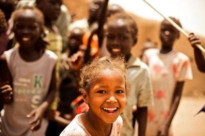 Children at St. Vincent's, Mayo, Khartoum