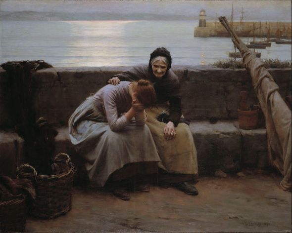 749px-Walter_Langley_-_Never_Morning_Wore_to_Evening_but_Some_Heart_Did_Break_-_Google_Art_Project