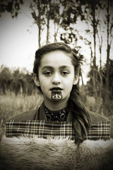 Culture Indigenous Polynesian Tradition Maori Girl