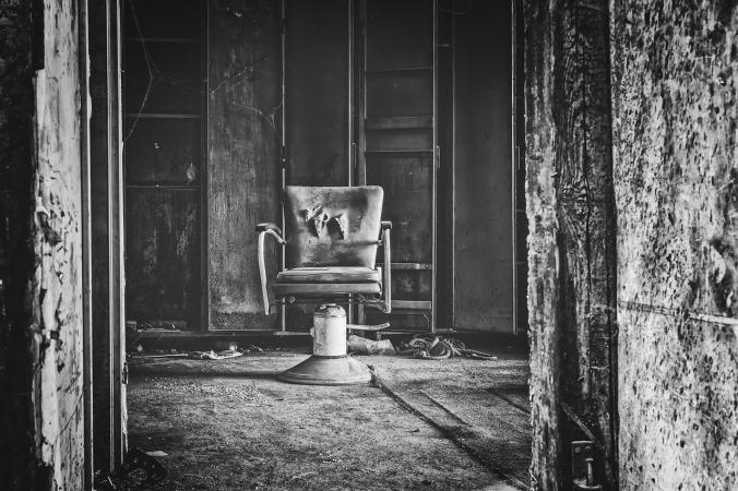 Chair Seat Gloomy Treatment Interrogation