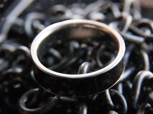 Black Mood Ring